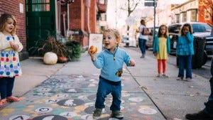 Apples are easy-to-grab locally grown snacks that give the body energy for play! Photo credit: Seth Nenstiel