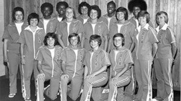 1976 United States women's basketball team (Courtesy College of St. Elizabeth)