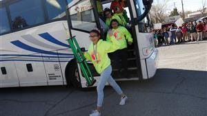 The Henderson Middle School chess team returned to a hero's welcome on Monday.