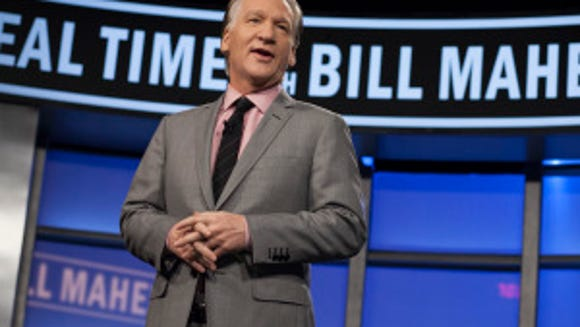 "Bill Maher hosts ""Real Time with Bill Maher"" in Los Angeles. (AP Photo/HBO, Janet Van Ham, File)"