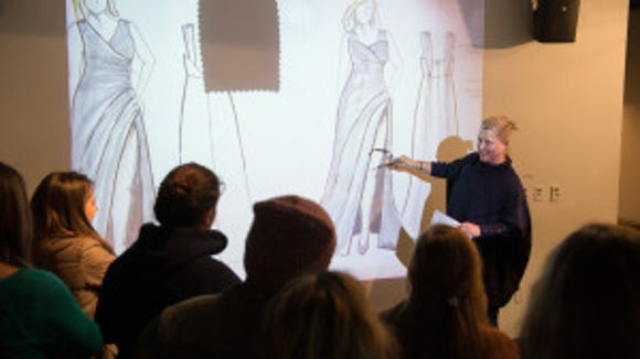 Emme Visits With Fashion Design Students About Plus Size Designs