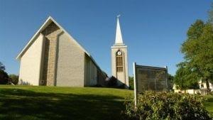 First Church, 1 Meetinghouse Green, Ipswich.