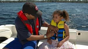 A legal measure that went into effect in 2005, requires children under age ten to wear a life jacket while boating in Minnesota.