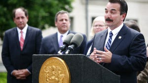 Assembly Speaker Vincent Prieto has concerns about the bail reform package. (Governor's Office/Tim Larsen)