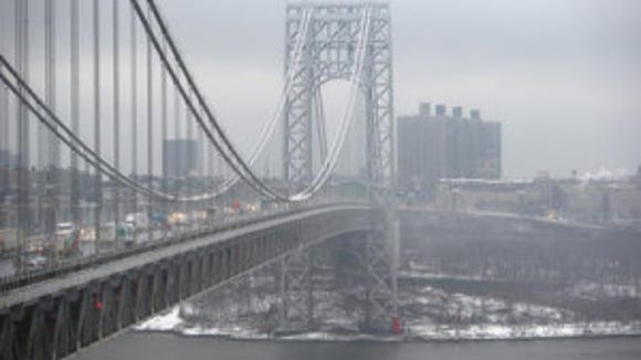 The George Washington Bridge. (Getty Images)