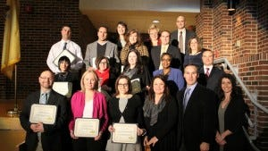 Jackson School District administrators and Board of Education members honored Jackson's teachers of the year this week.
