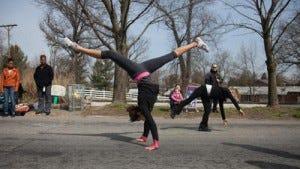 Sara Johnson with Competitive Edge Gymnastics, 2013 C-J file photo