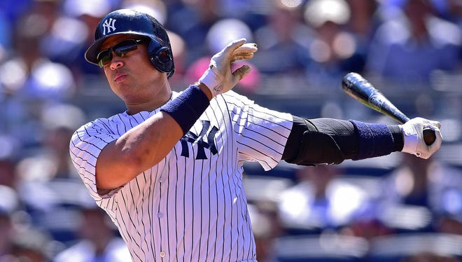 Alex Rodriguez is trying to get back in the Yankees lineup.