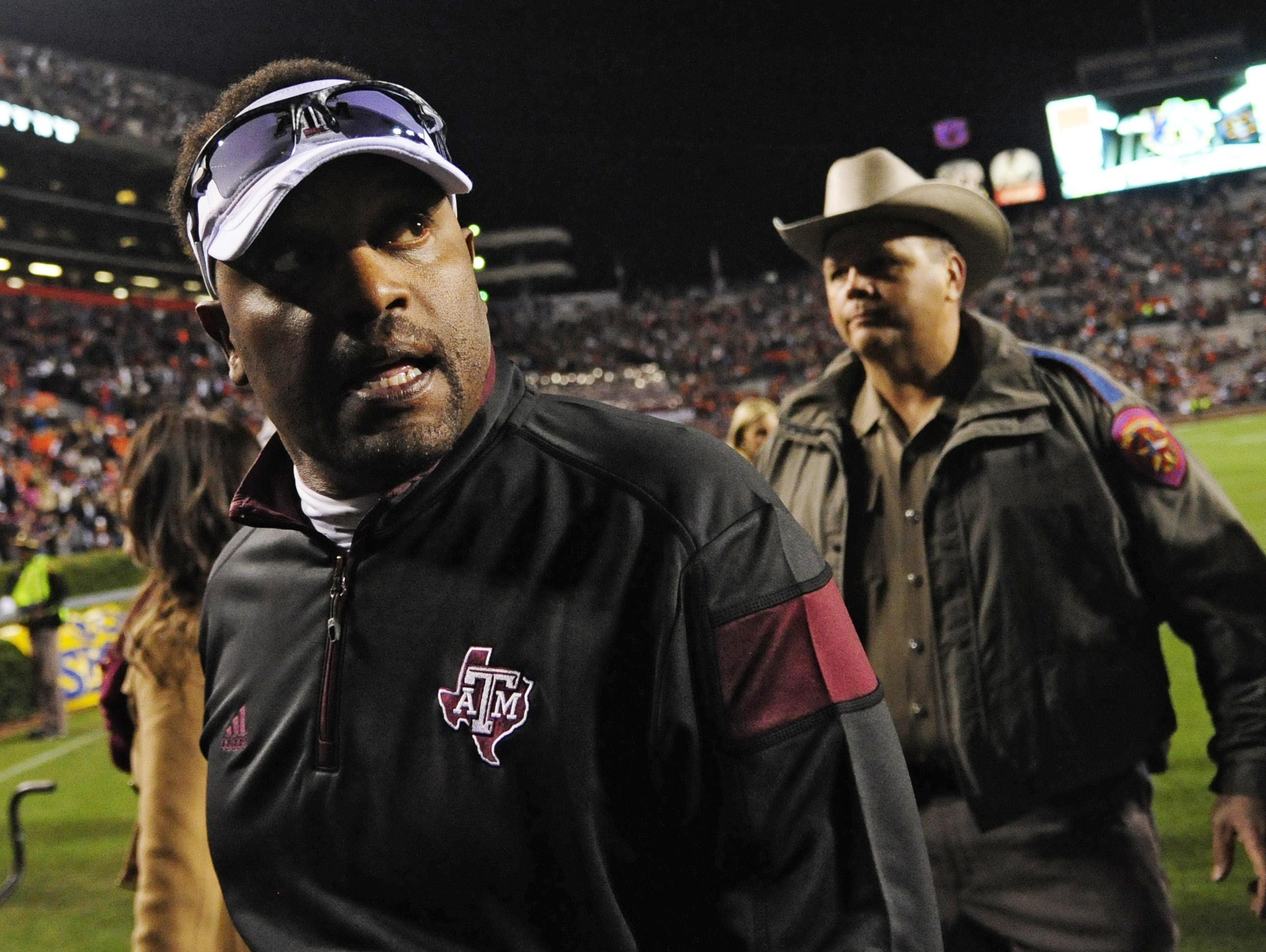 Texas A&M's Kevin Sumlin is the SEC's second-highest paid coach at $5 million a season, but has seen the Aggies go from 11-2 his first season to 8-5 in his third.