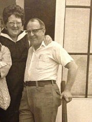 Thelma and Joseph Provost, shown here in a photo from the 1970s, were clients of William O'Brien.