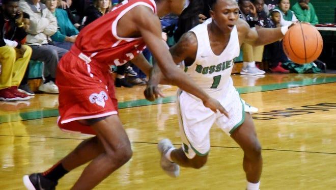 Bossier vs. Richwood Saturday evening at the Bossier Invitational basketball.