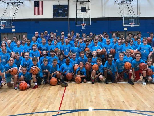 This week's 35th annual Hage-Hogan basketball camp