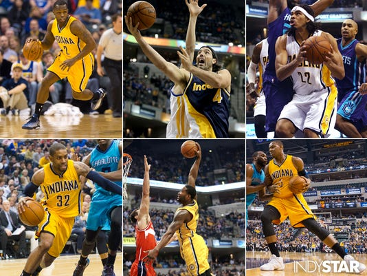 Pacers free agents