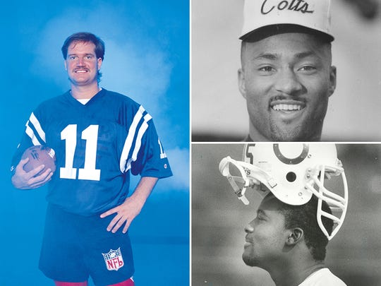 The Colts paid a steep price to land local product Jeff George.