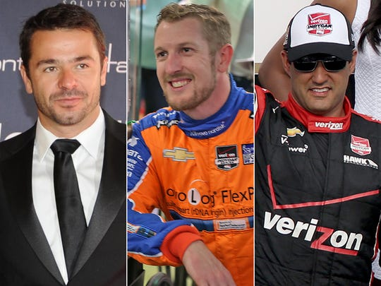 Row 5 of the starting lineup for the 2015 Indianapolis
