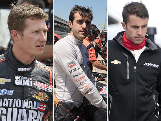 Row 11 of the starting lineup for the 2015 Indianapolis