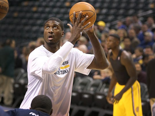 Roy Hibbert averaged 11.7 points, 5.7 rebounds and