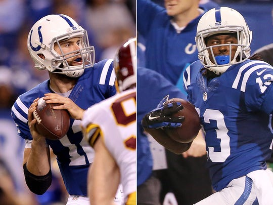 Will Andrew Luck find T.Y. Hilton Sunday against the Patriots?