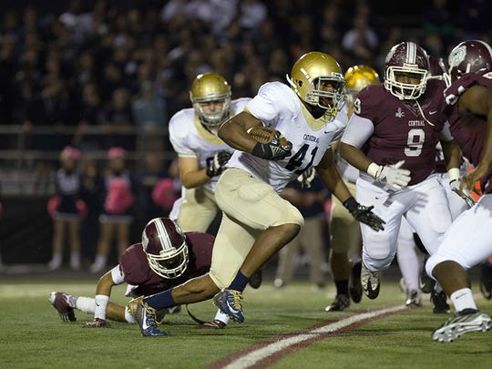 Cathedral sophomore Markese Stepp continued his impressive