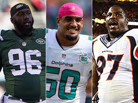 Teams looking for help at defensive end have some strong choices to choose from.