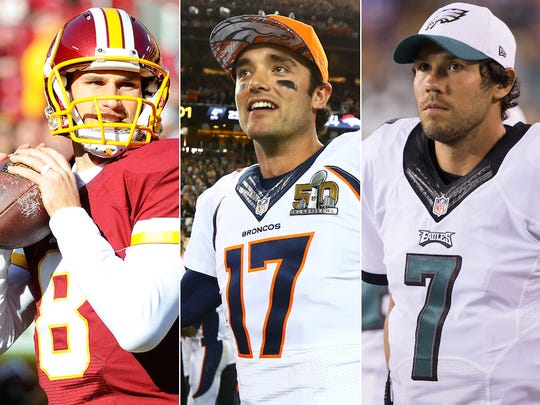Some interesting names will hit the open market for quarterback needy teams.