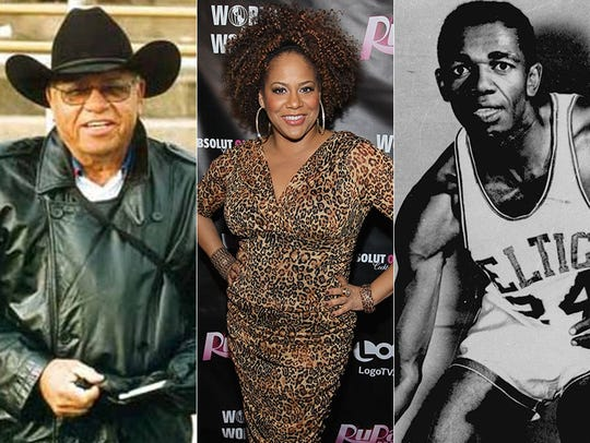 Herman Boone, Kim Coles and Sam Jones.