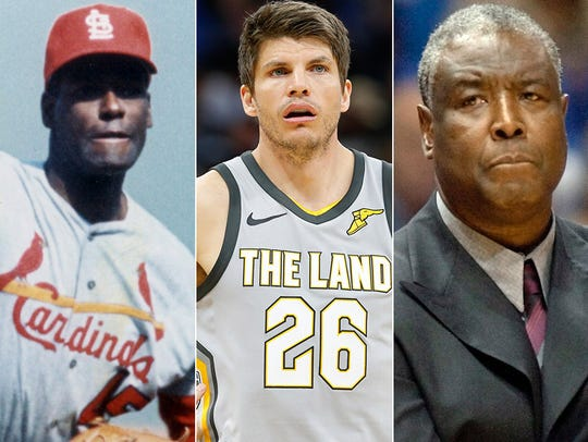 L to R: Bob Gibson, Kyle Korver and Paul Silas