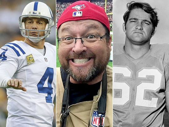 L to R: Adam Vinatieri, Matt Kryger, Jim Langer.