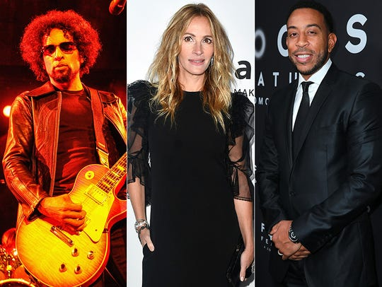 L to R: William Duvall, Julia Roberts and Ludacris