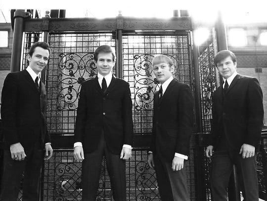 A publicity photo for the Bobby Fuller Four.