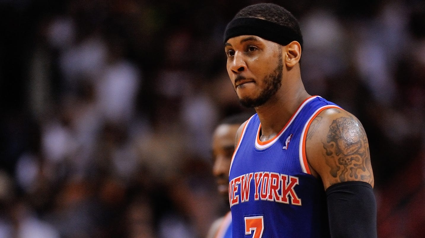 Carmelo Anthony to opt out of New York Knicks contract