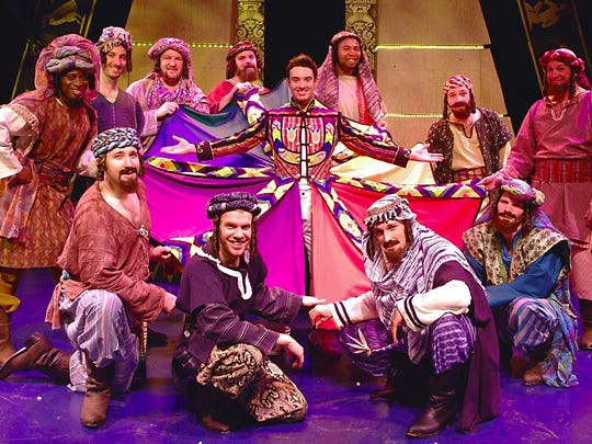 """""""Joseph and the Amazing Technicolor Dreamcoat"""" will runs through March 26, 2017, at Beef & Boards Dinner Theatre."""