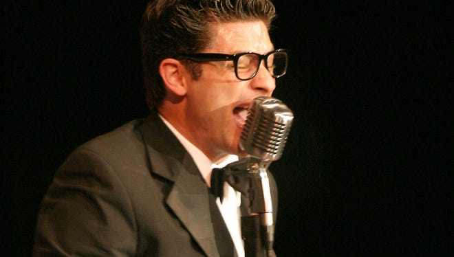 Billy McGuigan is Buddy Holly in Buddy: The Buddy Holly Story, Sept. 12-Oct. 5, at The Des Moines Playhouse.