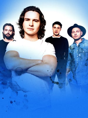 Danish singer Lukas Graham, second from left, is now a pop star in the U.S. with his breakout hit '7 Years'