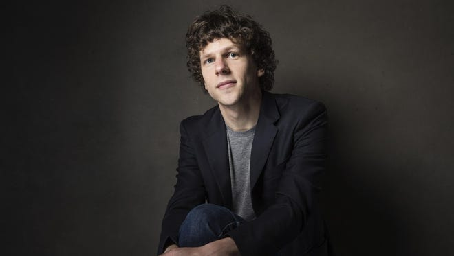 Jesse Eisenberg will match donations made to Bloomington's Middle Way House.