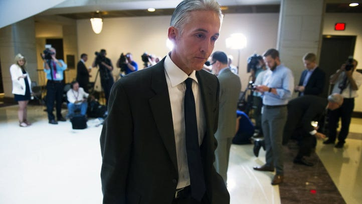 Rep. Trey Gowdy, R-S.C., chairman of the special House