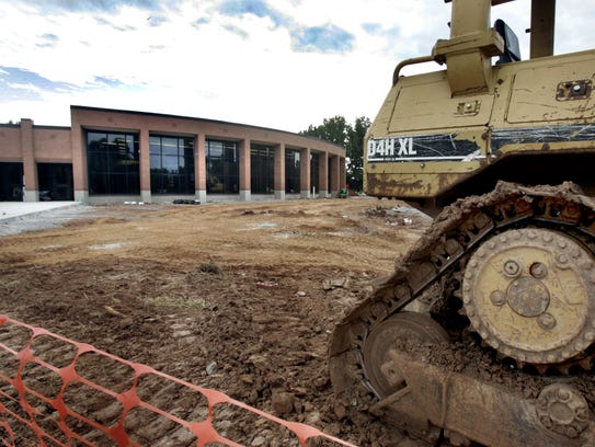 Construction is set to continue at Hobgood Elementary