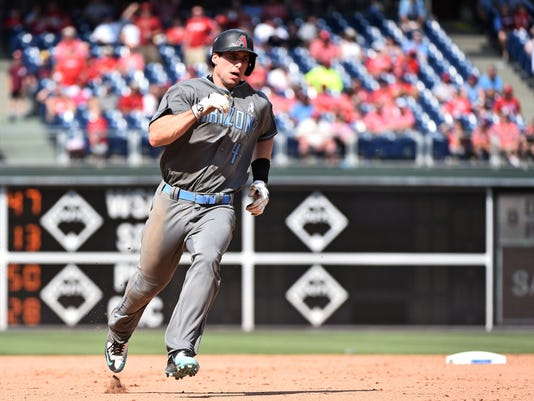 MLB: Arizona Diamondbacks at Philadelphia Phillies