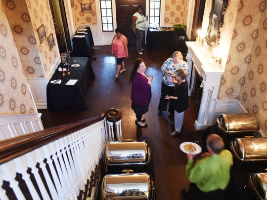 The foyer at Grace Estate, which offers lunch five days a week and a Friday night dinner service.