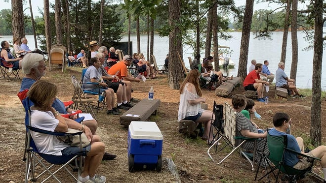 St. John United Methodist Church will continue offering worship services at its Lake Thurmond property through September.