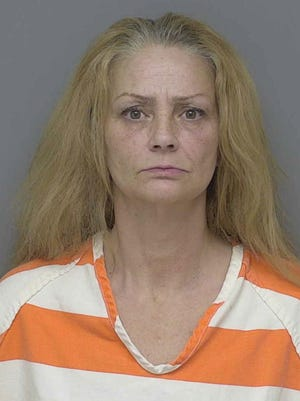Dawn Lynn Gerred, 49, is charged with organized retail crime and first degree retail fraud in connection to an attempted theft at the Genoa Township Meijer store Jan. 22, 2018.
