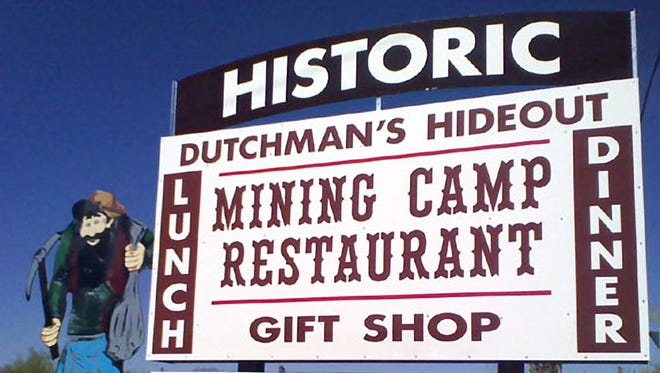 NOW CLOSED: Mining Camp Restaurant was a cowboy-inspired restaurant in Apache Junction that was open since 1961. It was destroyed in a fire.