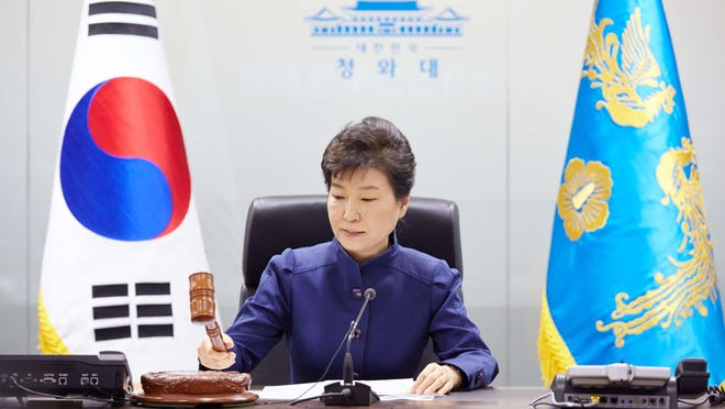 """South Korea President Park Geun-Hye called the rocket launch early Sunday an """"intolerable provocation."""""""