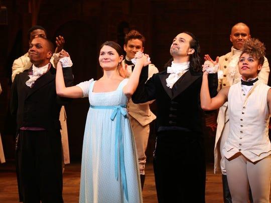 'Hamilton' on Broadway