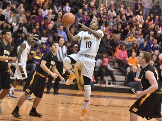 Roman Catholic's Tony Carr will be a focal point for Cedar Crest on Wednesday. (Photo: Rick Cawley, Montgomery News)