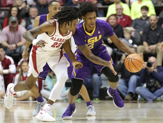 NCAA Basketball: Louisiana State at Alabama