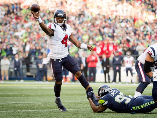 USP NFL: HOUSTON TEXANS AT SEATTLE SEAHAWKS S FBN SEA HOU USA WA