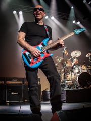 "Joe Satriani Joe Satriani comes to Salem for his only Oregon date for his ""Surfing to Shockwave"" tour on Feb. 26."