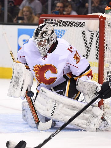 Karri Ramo notched his third career save in a 2-0 win