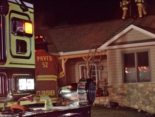 West Manheim Township fire
